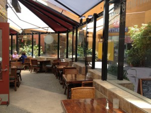 Cafe Lotus Outside Patio