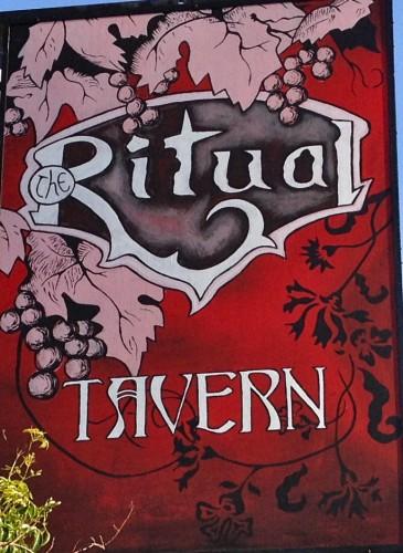 Ritual Tavern Sign