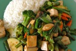 Vegan Stir Fried Vegetables from Saffron