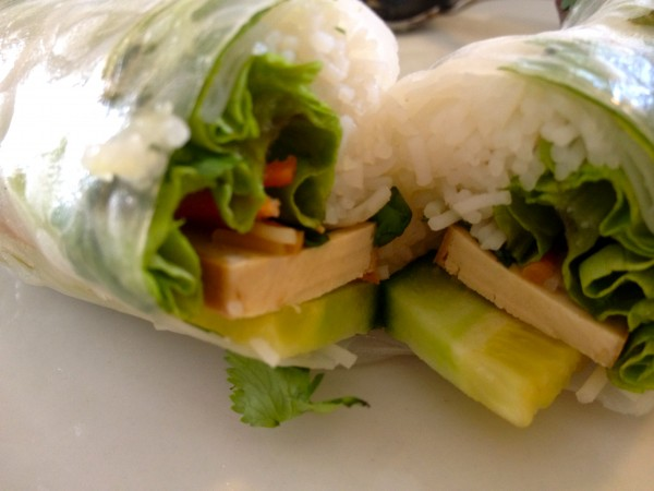 Tofu Salad Roll