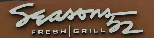 Seasons 52 Sign