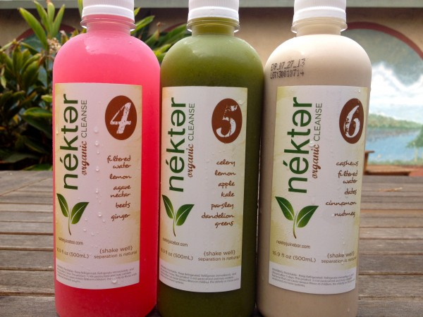 Nekter Organic Juice Cleanse, Bottles 4-6