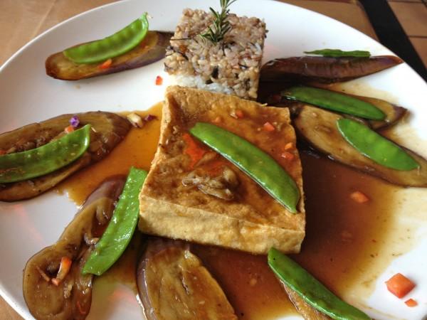 Vegan Eggplant Tofu