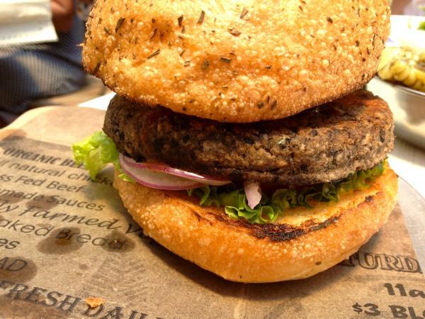 Vegan TJ Burger
