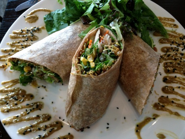 Vegan Vegetarian Roll Up