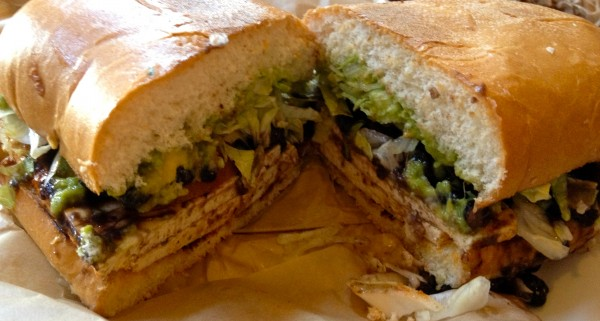 Grilled Tofu and Black Bean Torta from Ranchos