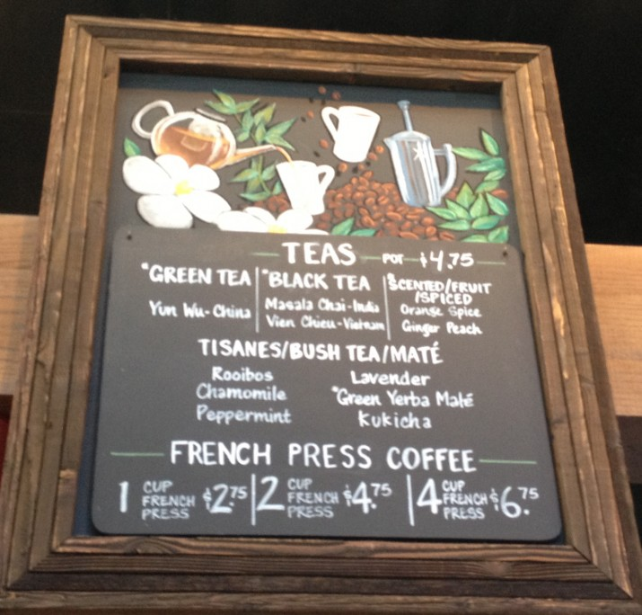 Casas Tea and Coffee Board