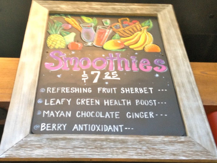 Casas Smoothie Board