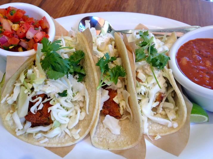 "Baja ""Fish"" Taco Plate"