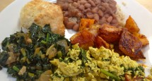 My People's Breakfast Plate