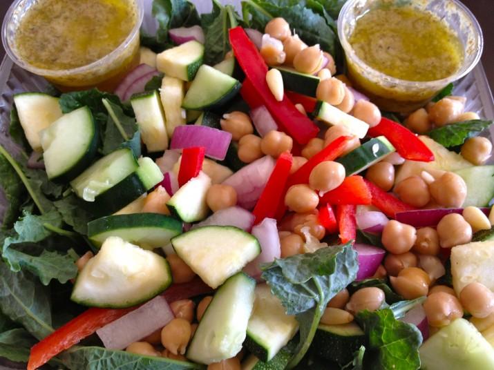 Bee Green Mediterranean Kale Salad