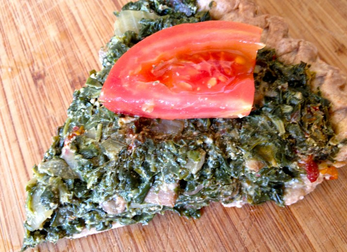 Bee Green Spinach Pie
