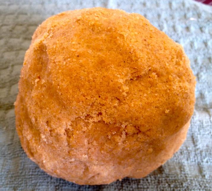 Pumpkin Butter Cookie Dough Ball