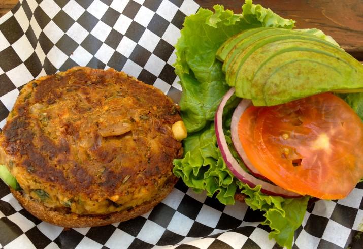 House Veggie Burger