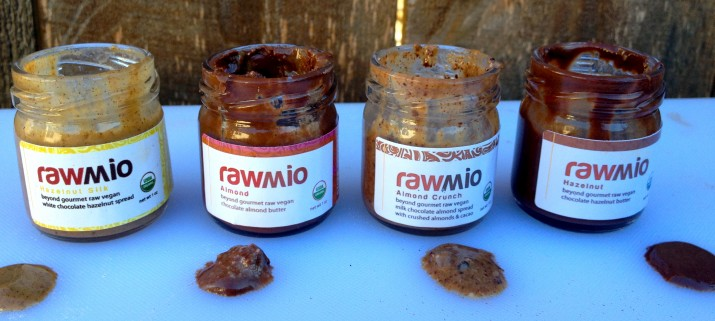 Lined Up Rawmio Nut Butters