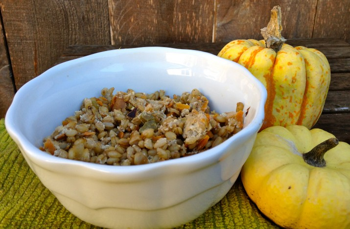 Barley Casserole in Bowl