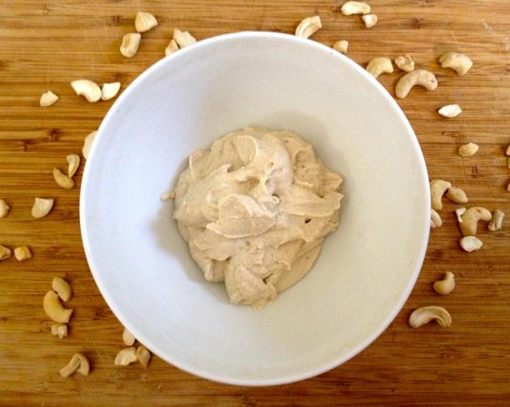 Cashew Cream in Bowl