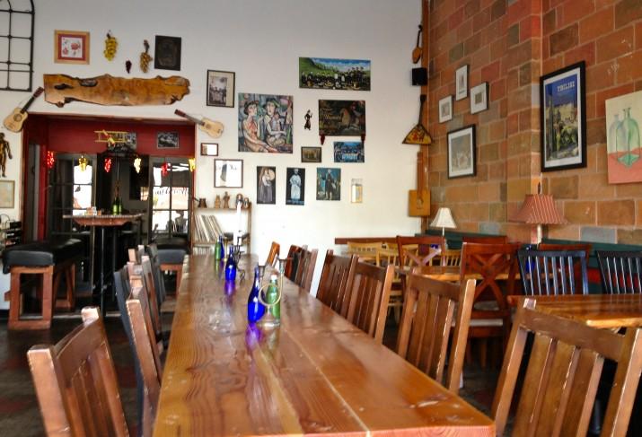 Interior Kafe Sobaka