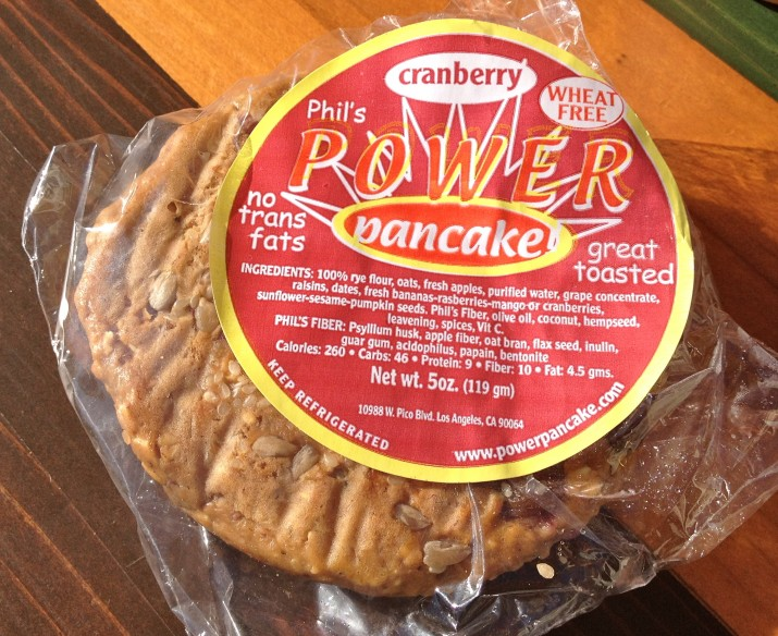 Power Pancake in Wrapper