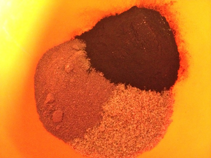 Cacao Powder, Spirulina, and Flax Seed