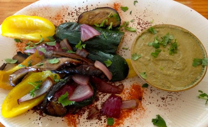Vegetarian's Answer to Shashlik