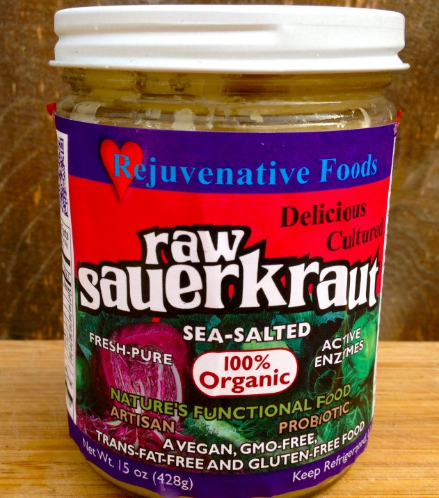 Rejuvenative Foods Raw Sauerkraut