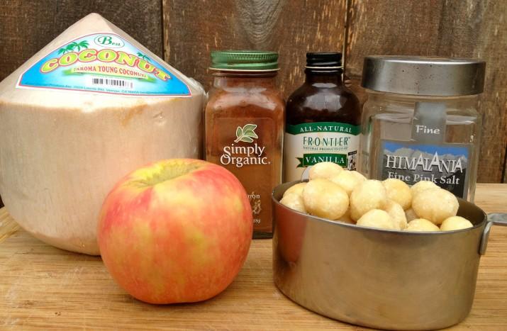 Macadamia Nut Breakfast Porridge