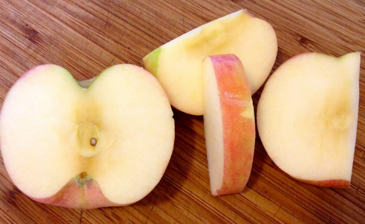 Cut Up Apple
