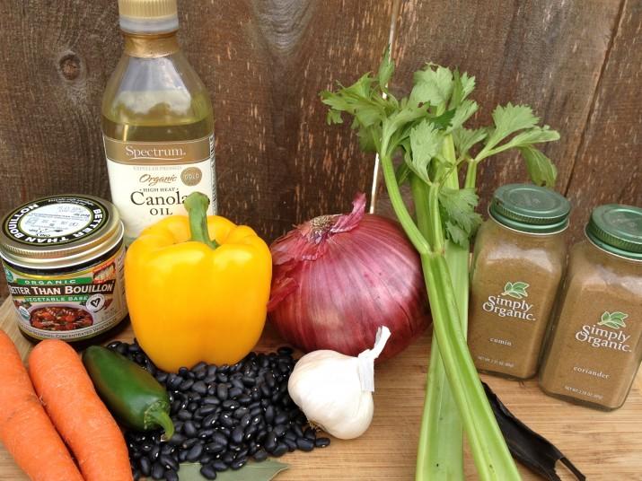 Black Beans Ingredients