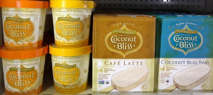 Coconut Bliss Ice Cream Pints and Bars