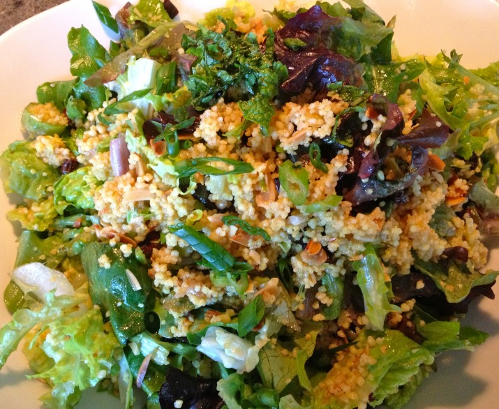 Vegan Cous Cous Salad