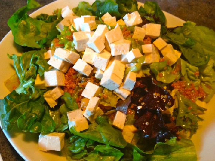 Vegan Tofu Salad