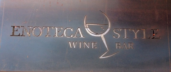 Enoteca Style Sign