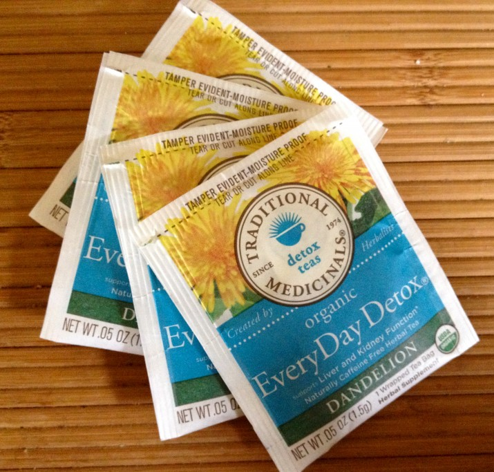 Traditional Medicinals Every Day Detox Tea