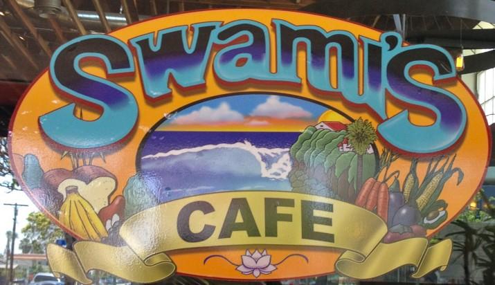 Swami's Cafe Sign