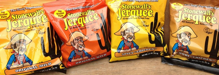 4 Types of Stonewall's Vegan Jerquee