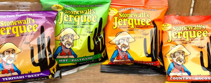 4 More Types of Stonewall's Vegan Jerquee