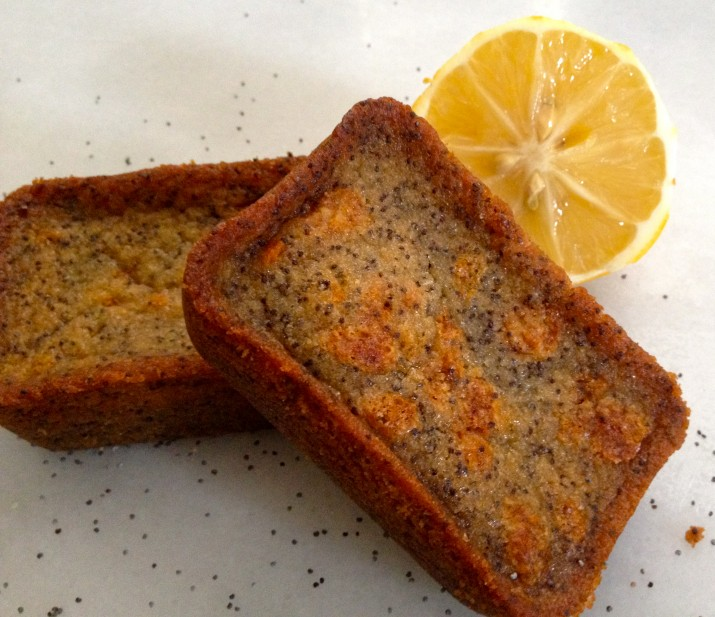 Vegan Lemon Poppy Seed Bread
