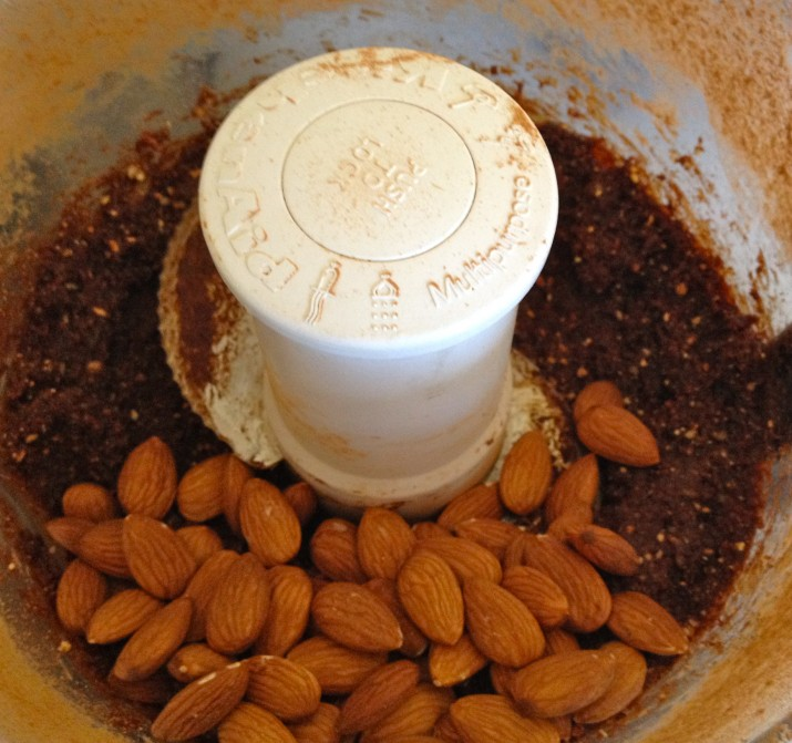 Adding in Almonds