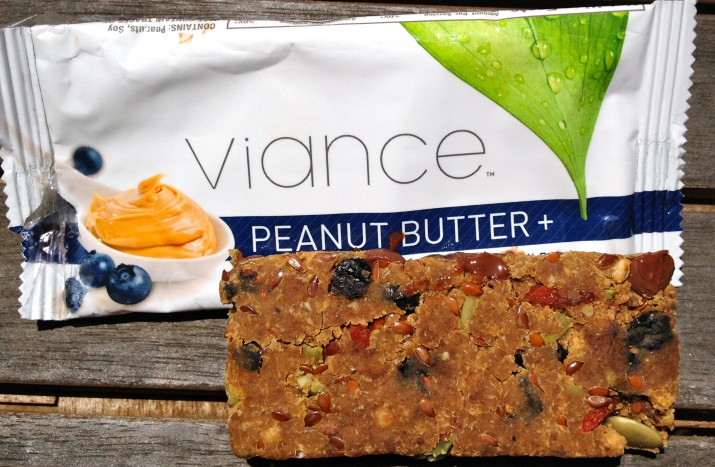 Peanut Butter and Blueberry Vegan Bar