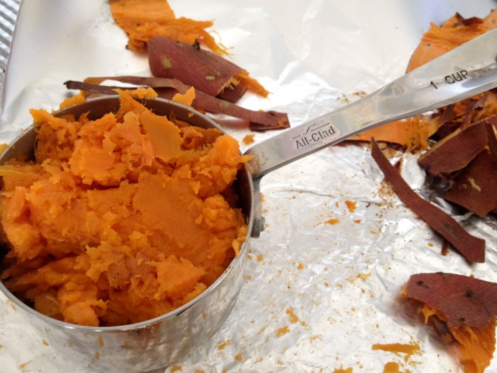 Mashed Sweet Potato