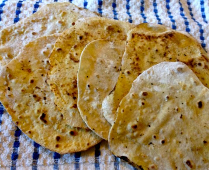 Spelt Tortillas