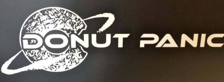 Donut Panic Sign
