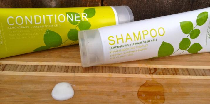 Lemongrass Shampoo and Conditioner