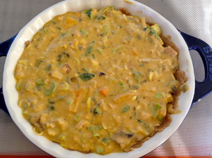 Uncooked Vegan Quiche