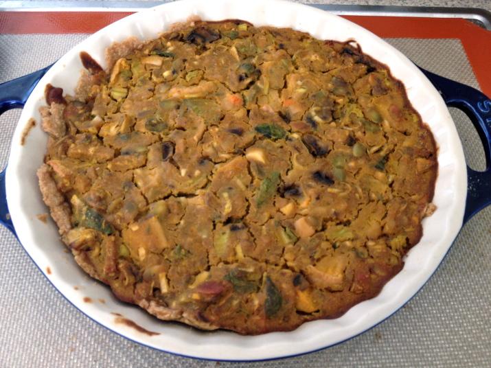 Cooked Vegan Quiche