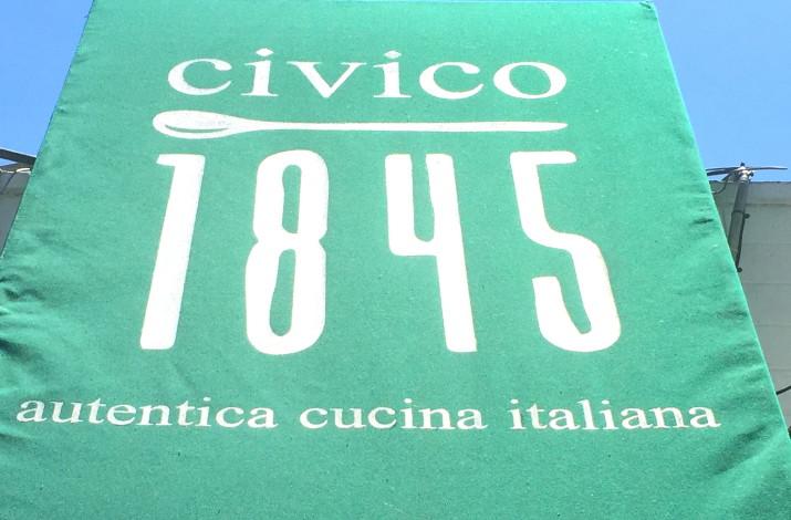Civico 1845 Sign