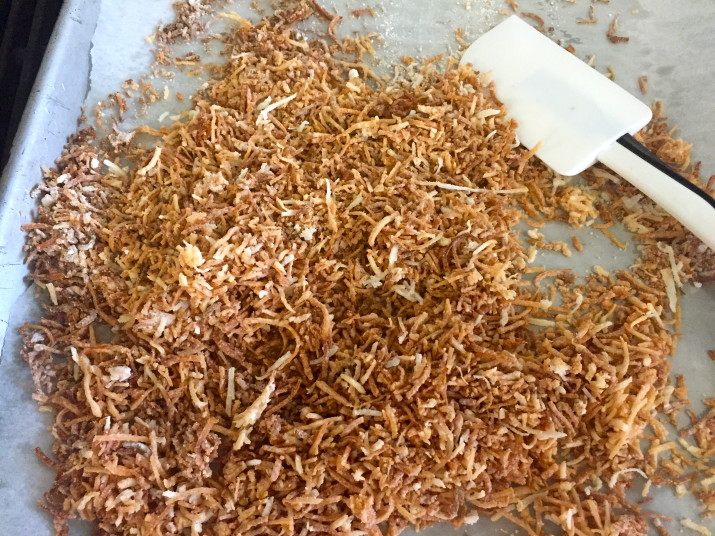 Toasted Shredded Coconut