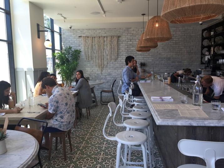 Cafe Gratitude Bar Area