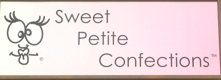 Sweet Petite Confections Sign